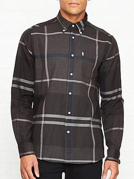 barbour-dunoon-large-check-shirt-grey