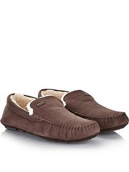 barbour-mens-monty-suede-slippersnbsp--brown