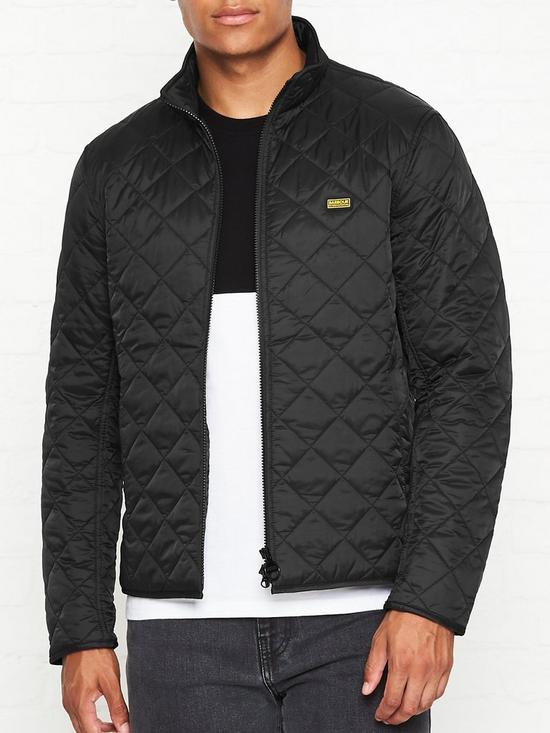 708462ba3 International Gear Quilted Jacket - Black