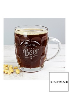 personalised-beer-label-dimple-tankard-pint-glass
