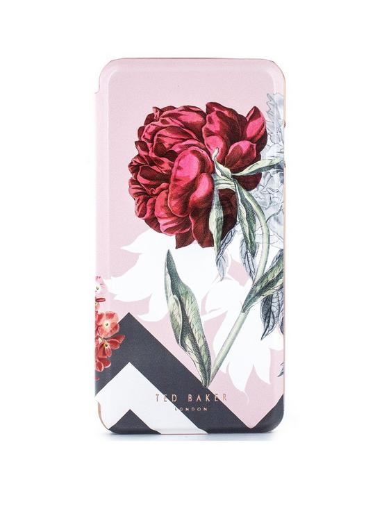 pretty nice 3c7ac ab48e EMMARE Mirror Folio Case for iPhone 8 Plus/7 Plus - Palace Gardens