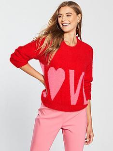 v-by-very-fluffy-love-slogan-jumper-rednbsp