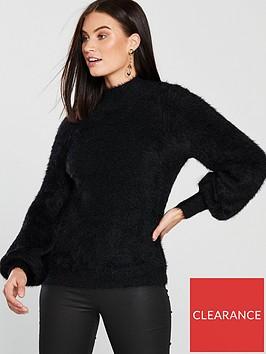 v-by-very-fluffy-turtleneck-jumper-black