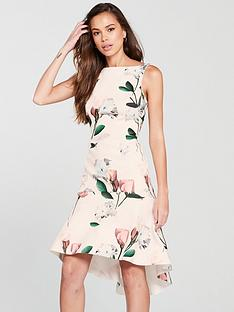 coast-campbell-peplum-scuba-dress-printed