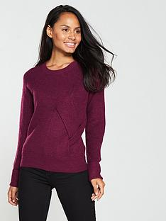v-by-very-twist-front-detail-jumper-grapenbsp