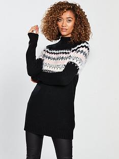 v-by-very-embellished-fairisle-jumper-blacknbsp