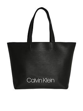 Calvin Klein Calvin Klien Collegic Logo Shopper Tote Bag