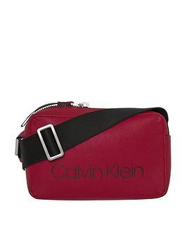 Calvin Klein Calvin Klien Collegic Red Crossbody Bag