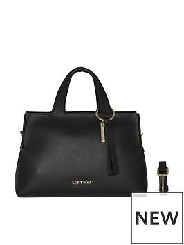 calvin-klein-neat-black-large-tote-bag