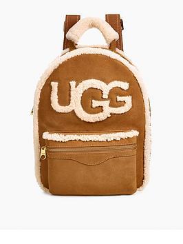 ugg-dannie-sheepskin-backpack-brown