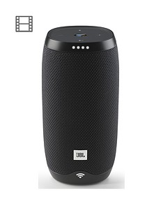 JBL LINK 10 Voice-Activated Wireless Bluetooth Speaker with Google Assistant