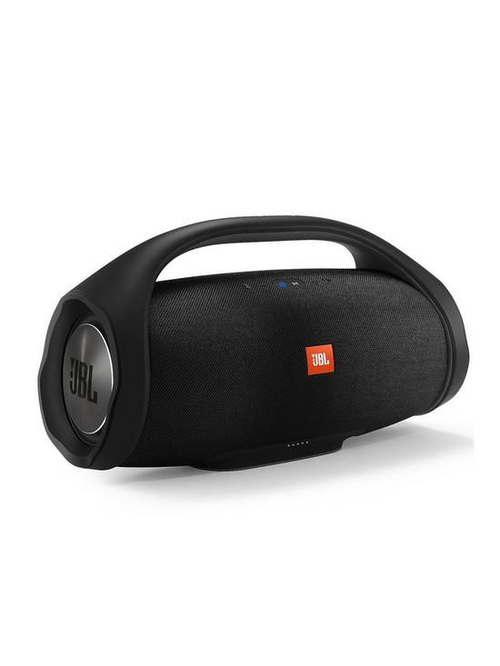 19422b3f8b5503 JBL BOOMBOX Wireless Bluetooth Rugged Portable Waterproof Speaker with 24  hour Battery Life and Connect+