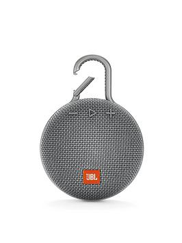 jbl-jbl-clip3-wireless-bluetooth-ultra-portable-and-rugged-speaker-with-intergrated-carabiner-and-up-to-10-hours-playtime-grey