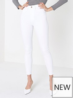 river-island-river-island-short-length-harper-high-rise-jeans--white