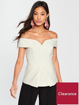 river-island-river-island-structured-bardot-top--ivory