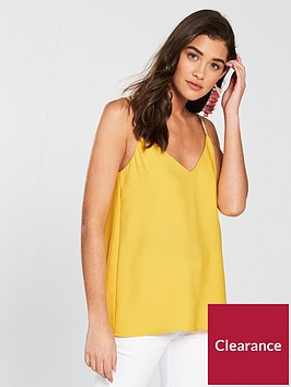 river-island-plait-strap-cami-yellow