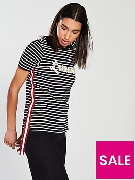 river-island-river-island-l039amour-tape-detail-stripe-t-shirt--black