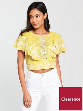 river-island-river-island-broderie-detail-cropped-blouse--yellow