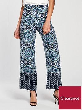river-island-river-island-paisley-print-wide-leg-trousers--blue