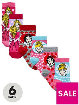 disney-princess-princess-6-pack-girls-socks