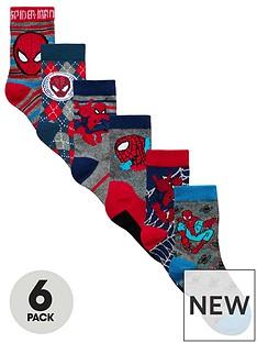 spiderman-spider-man-6-pack-socks