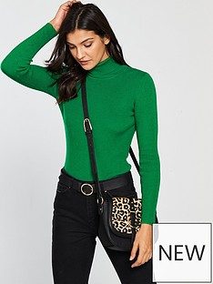 v-by-very-skinny-rib-roll-neck-jumper-green