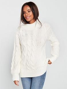 v-by-very-cable-funnel-neck-jumper-cream