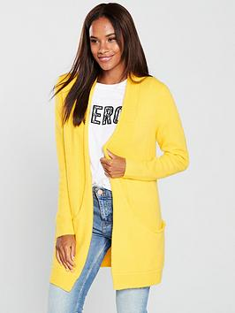 v-by-very-slouch-pocket-cardigan-saffron-yellow