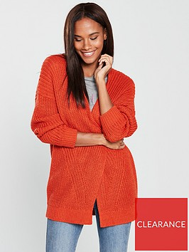 v-by-very-rib-slouch-cardigan-rust