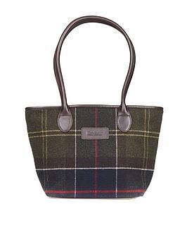 Barbour Dee Tartan Tote Bag