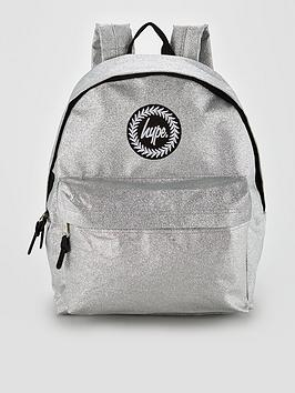 hype-silver-glitter-backpack
