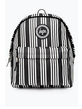 Hype Vinyl Stripe Backpack