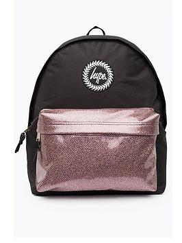 Hype Glitter Pocket Backpack