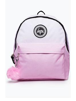 Hype Speckle Fade Pom Backpack