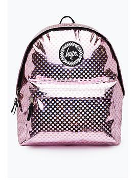 Hype Metallic Polka Backpack