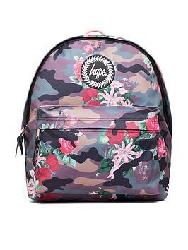 Hype Flower Camo Backpack