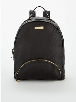 Carvela Bassett Nylon Backpack - Leopard Print