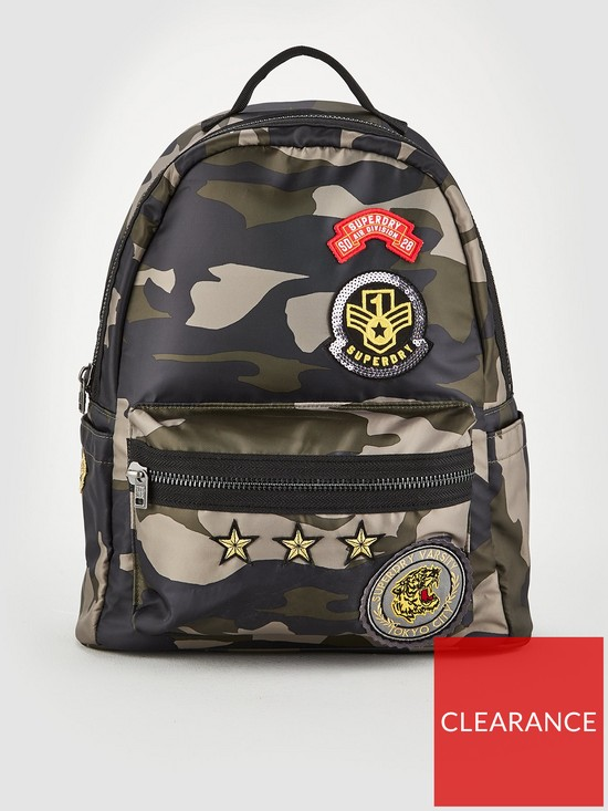 46504dab8df Superdry Midi Backpack - Camo   very.co.uk