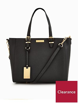 carvela-dina-black-tote-bag