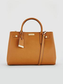 Carvela Bonnie Tan Structured Tote Bag
