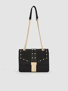 Carvela Carvela Brittany Black Embellished Crossbody Bag