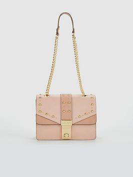 Carvela Brittany Embellished Crossbody Bag - Pink