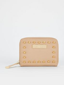Carvela Abi Stud Small Purse - Bone