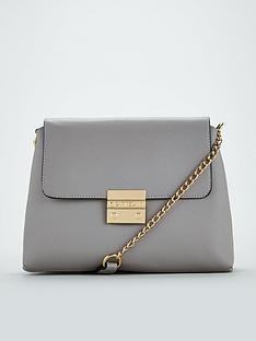 carvela-blink-chain-handle-shoulder-bag-grey