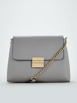 Carvela Blink Chain Handle Shoulder Bag - Grey