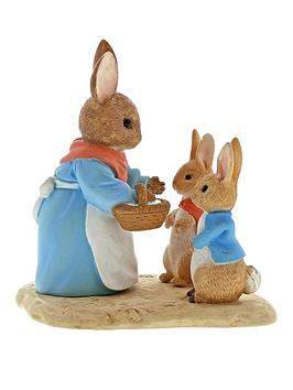 mrs-rabbit-flopsy-and-peter-rabbit-figure