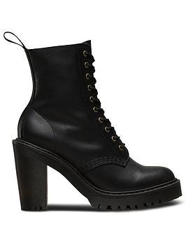 Dr Martens Dr Martens Kendra 10 Eye Heeled Ankle Boot
