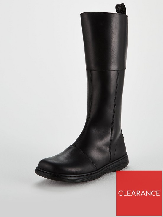 5ae6cf690745 Dr Martens Lahiri High Leg Knee Boot - Black