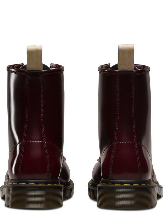 3dc241589 ... Dr Martens Vegan 1460 8 Eye Ankle Boots - Cherry. View larger