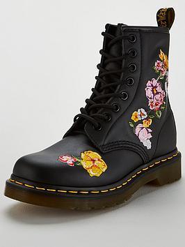 Dr Martens 1460 Finda Ii 8 Eye Ankle Boot - Floral